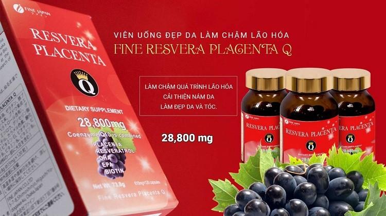 Fine Japan Resvera Placenta Q