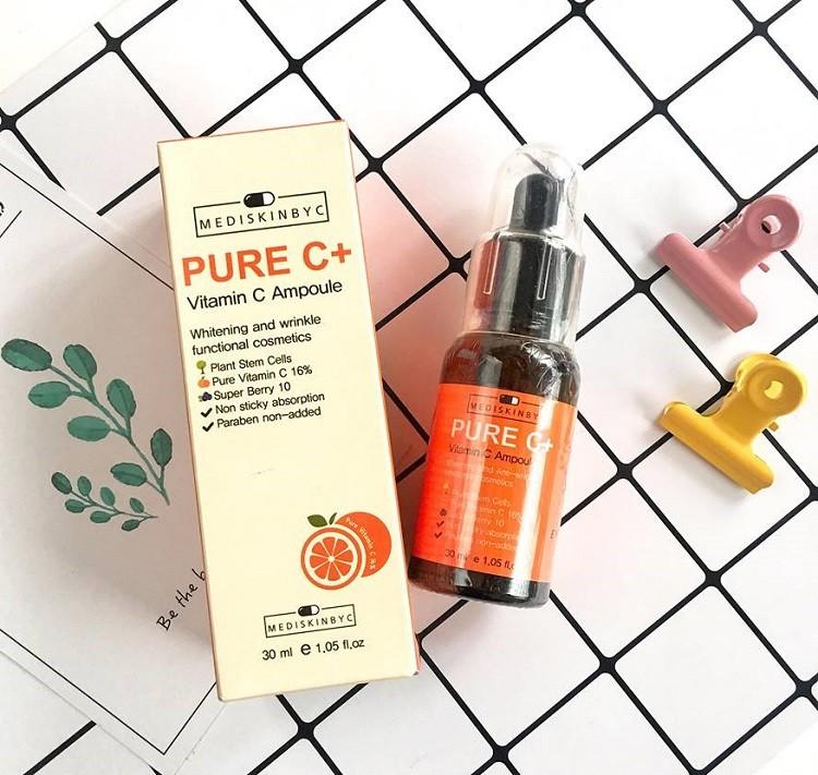 Pure C+ Vitamin C Ampoule Mediskinbyc