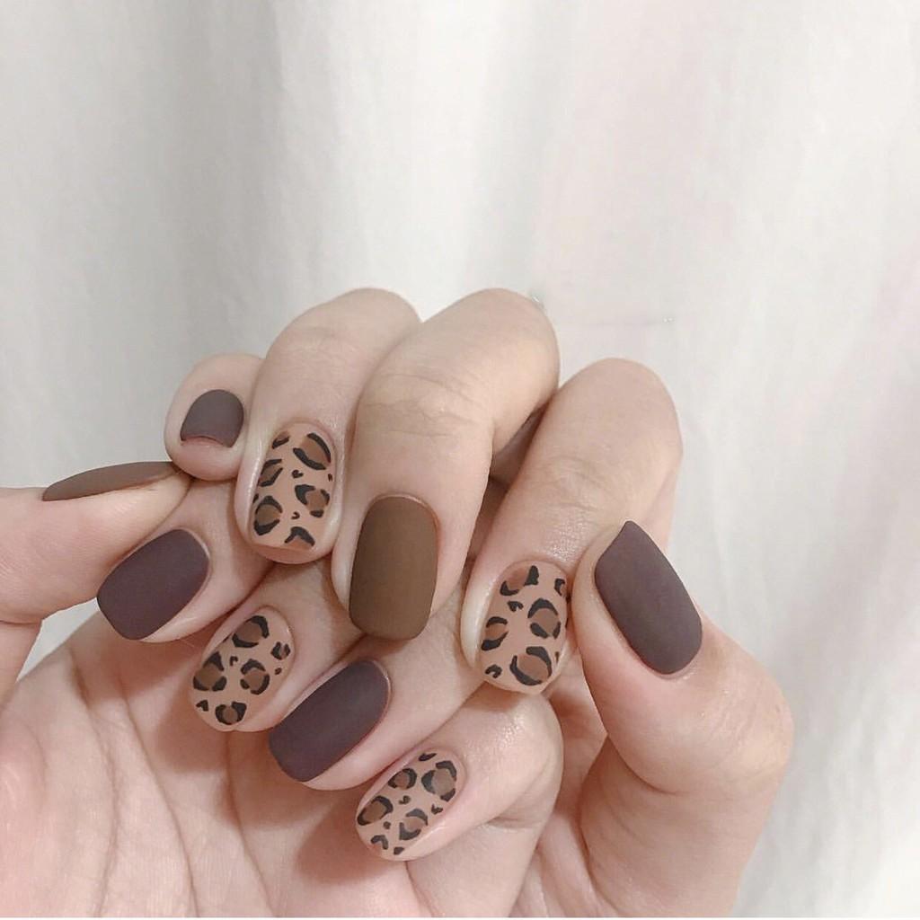Mẫu nail họa tiết da động vật