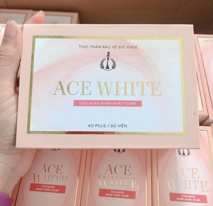 Viên uống trắng da ACE White review