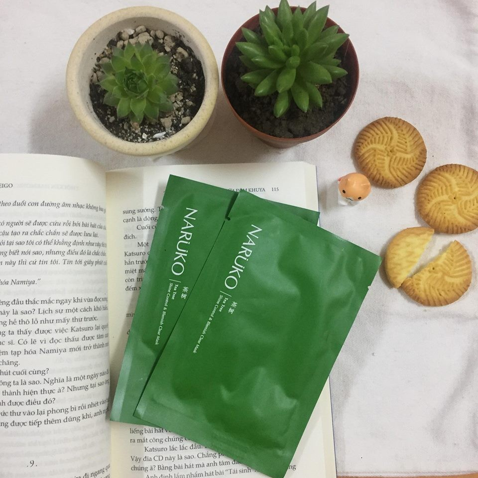 mặt nạ tràm trà naruko, review mặt nạ tràm trà naruko, cách sử dụng mặt nạ tràm trà naruko, cách dùng mặt nạ tràm trà naruko, mặt nạ tràm trà naruko tea tree shine control & blemish clear mask, công dụng mặt nạ tràm trà naruko, cách đắp mặt nạ tràm trà naruko, đắp mặt nạ tràm trà naruko, hướng dẫn sử dụng mặt nạ tràm trà naruko, mặt nạ tràm trà naruko sheis, mặt nạ tràm trà naruko bản trung, mặt nạ tràm trà naruko review, mặt nạ tràm trà naruko bản đài, mặt nạ ngủ tràm trà naruko, mặt nạ ngủ tràm trà naruko review, mặt nạ giấy tràm trà naruko