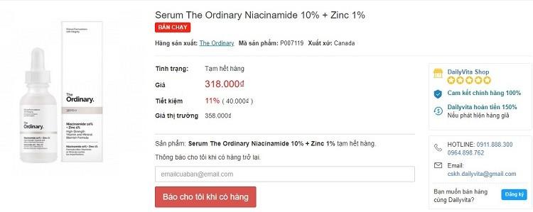The Ordinary Niacinamide 10 + Zinc 1, The Ordinary Niacinamide 10 + Zinc 1 30ml, The Ordinary Niacinamide 10 + Zinc 1 review, serum The Ordinary Niacinamide 10 + Zinc 1, serum The Ordinary Niacinamide 10 + Zinc 1 review, The Ordinary Niacinamide 10 + Zinc 1 serum, The Ordinary Niacinamide 10 + Zinc 1 opiniones, The Ordinary Niacinamide 10 + Zinc 1 sheis, The Ordinary Niacinamide 10 + Zinc 1 fake, cách dùng The Ordinary Niacinamide 10 + Zinc 1, The Ordinary Niacinamide 10 + Zinc 1 breakout, the ordinary niacinamide 10 + zinc 1 review sheis, serum the ordinary niacinamide 10 + zinc 1 fake, the ordinary niacinamide 10 + zinc 1 mua ở đâu, mua the ordinary ở đâu chính hãng, dùng the ordinary, mua serum the ordinary ở đâu, cách dùng the ordinary niacinamide, the ordinary niacinamide 10 + zinc 1 có tốt không, cách sử dụng the ordinary