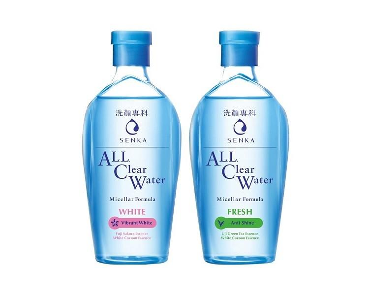 tẩy trang Senka, tẩy trang Senka xanh, tẩy trang Senka hồng, tẩy trang Senka cho da dầu, tẩy trang Senka cho da mụn, tẩy trang Senka thành phần, tẩy trang Senka giá bao nhiêu, tẩy trang Senka cho da nhạy cảm, tẩy trang Senka perfect water cleansing, tẩy trang Senka all clear water white, tẩy trang Senka all clear water white review, nước tẩy trang Senka all clear water, dầu tẩy trang Senka all clear oil