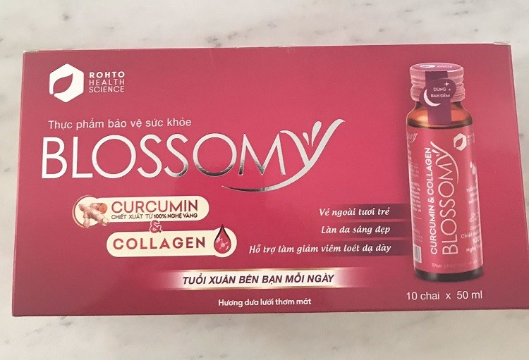 Collagen Blossomy review, Collagen Blossomy có tốt không, Blossomy Collagen, Blossomy Collagen rohto, nước uống Collagen Blossomy, blossomy curcumin collagen, blossomy có tốt không, Collagen Blossomy rohto