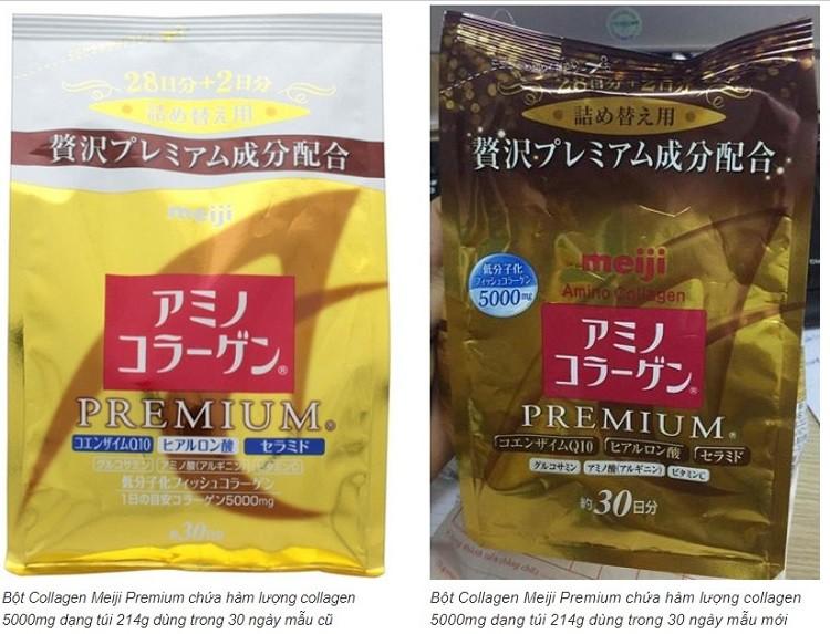 Collagen Meiji Premium dạng bột