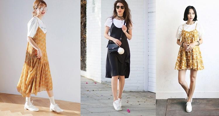 cách phối đồ với áo phông trắng, cách phối đồ với áo thun trắng, cách phối đồ với áo thun trắng nữ