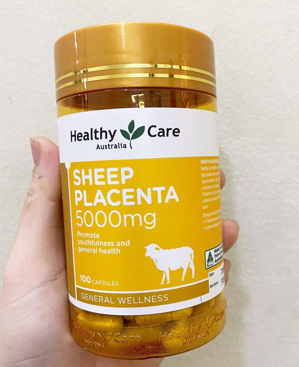 Sheep Placenta 5000mg, nhau thai cừu Sheep Placenta, viên uống nhau thai cừu Sheep Placenta 5000mg