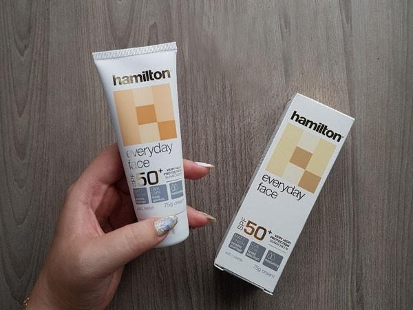 Review kem chống nắng Hamilton thành phần, công dụng có tốt không?